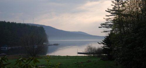 Inn at Deep Creek Lake at dusk