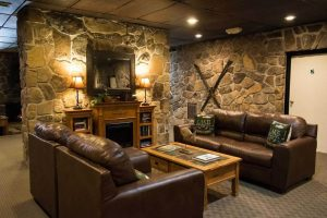 Inn at Deep Creek Lobby Couches
