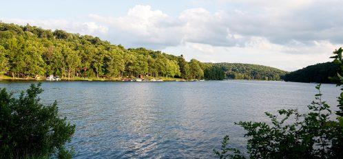 Deep Creek Lake Maryland lake view