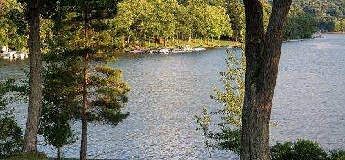 Deep Creek Lake Maryland lakeside