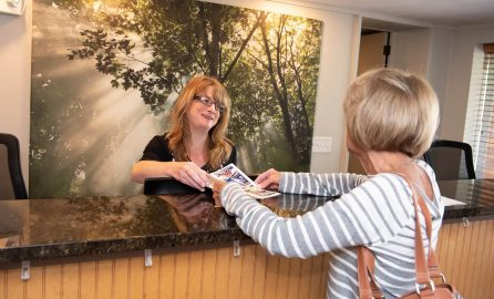 Inn at Deep Creek Front Desk customer service